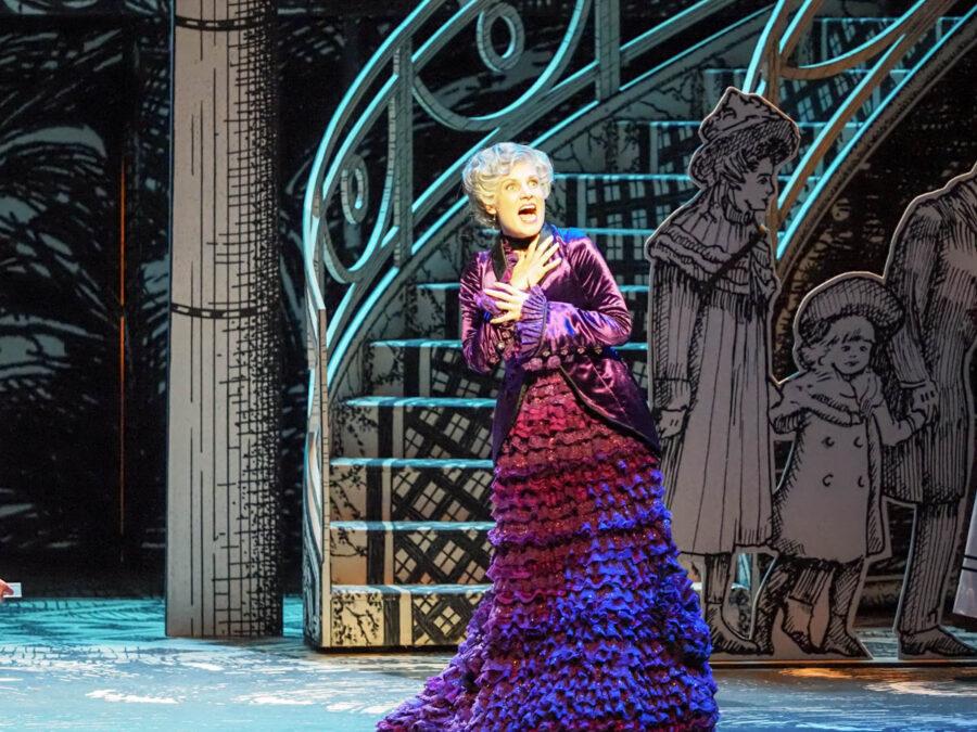 Caroline Wettergreen as Queen of the Night in Die Zauberflote. Glyndebourne Opera July 2019