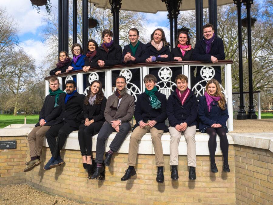 The Godwine Choir group photo.