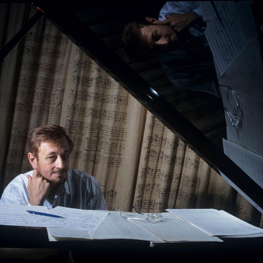 Michael Garrick, jazz composer, pianist and teacher.