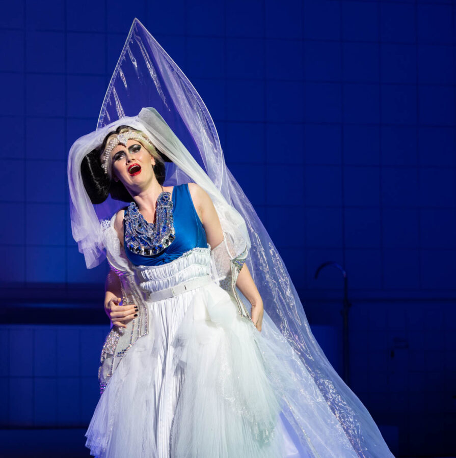 Marta Fontanals-Simmons as Eurydice in The Mask of Orpheus