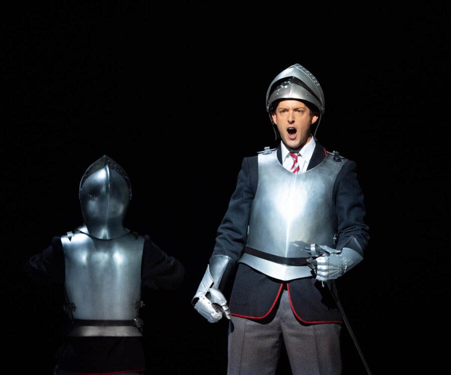 JAKE ARDITTI, countertenor as Rinaldo. Glyndebourne Opera