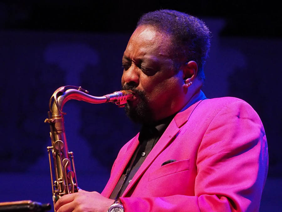 Chico Freeman, saxophonist, Cadogan Hall