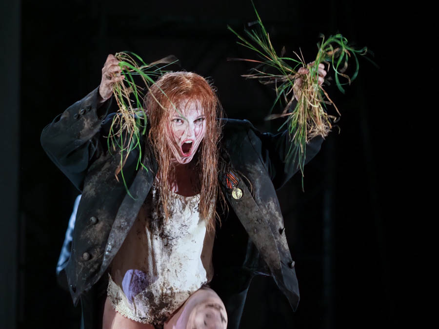 JENNIFER FRANCE as Ophelia in HAMLET. Glyndebourne Opera