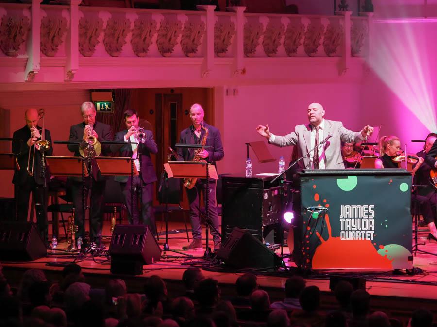 James Taylor Quartet at Cadogan Hall