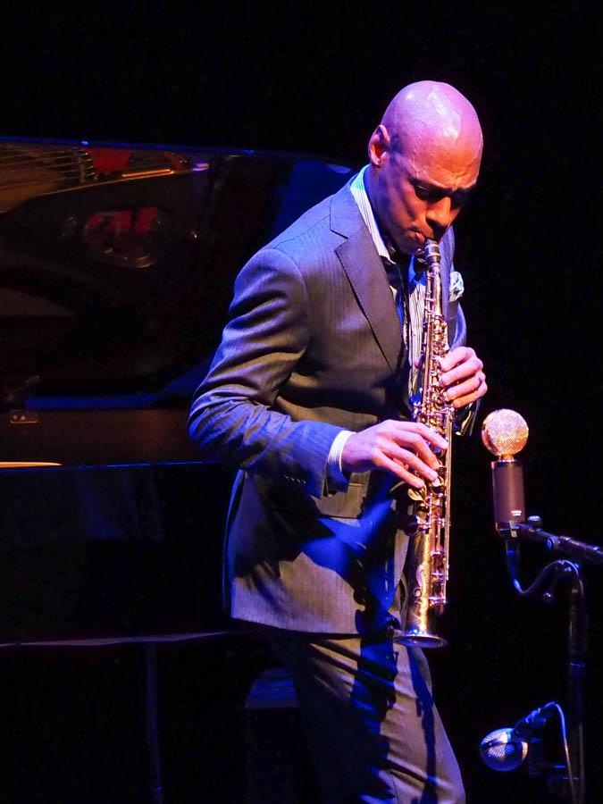 Joshua Redman, saxophone player, Barbican Hall