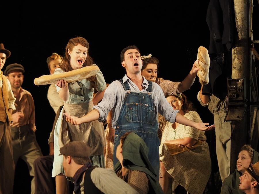 Christopher Tiesi as (Nemorino) L'elisir D'amore. Glyndebourne Opera