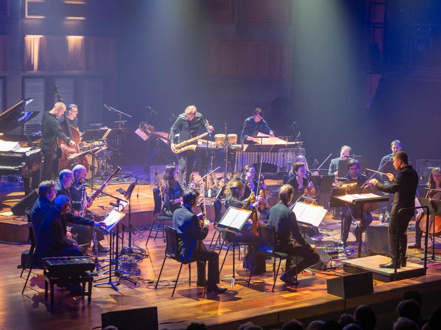 Marius Neset plays with the London Sinfonietta at The Queen Elisabeth Hall