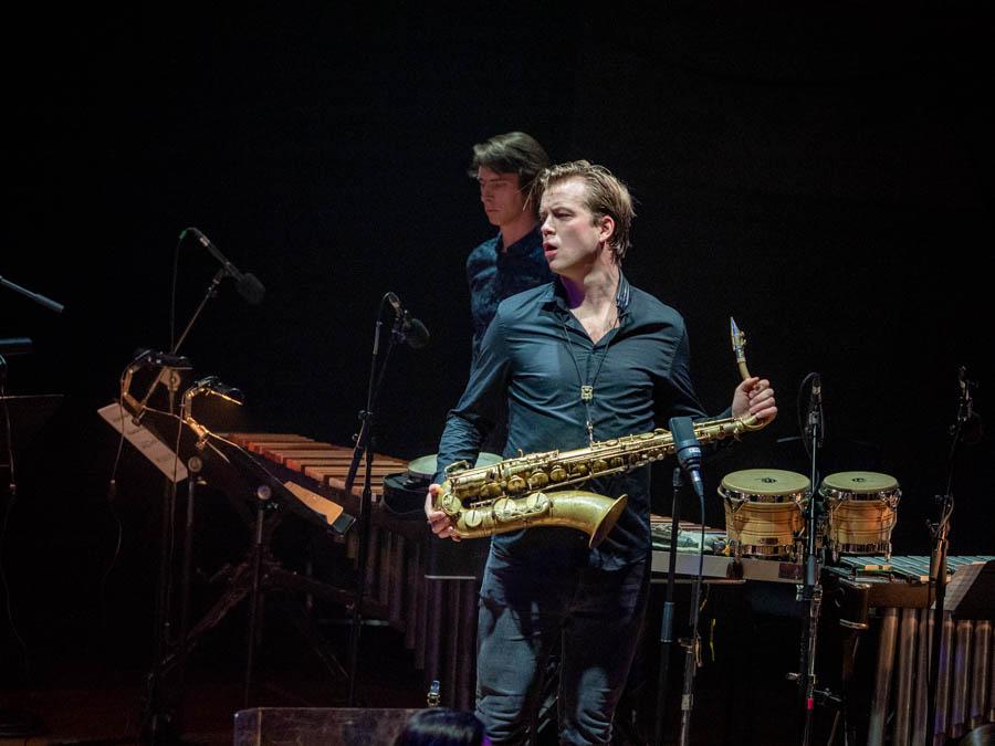 Marius Neset, saxophone player